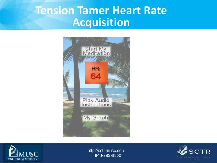 Tension Tamer Heart Rate Acquisition
