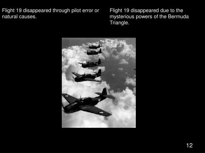 Flight 19 of