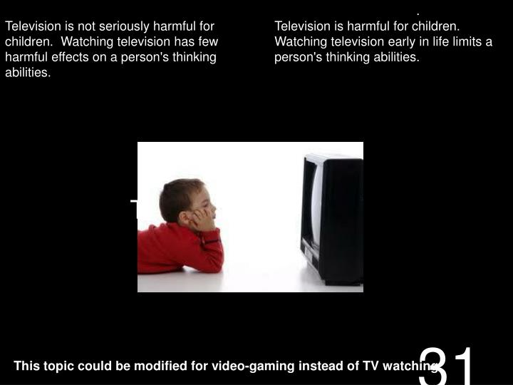 TV, Psychological