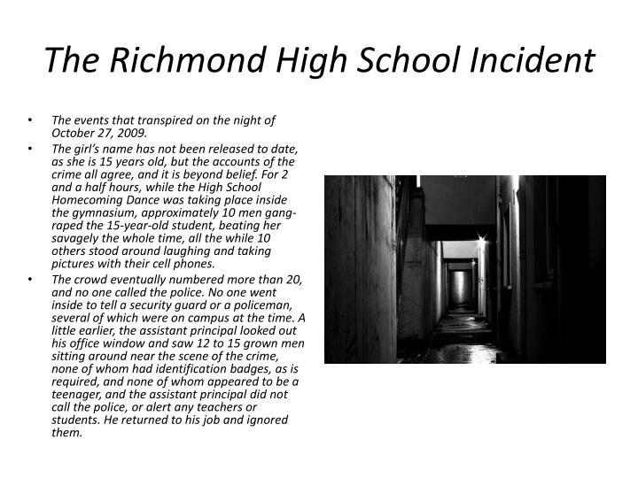 The Richmond High School Incident
