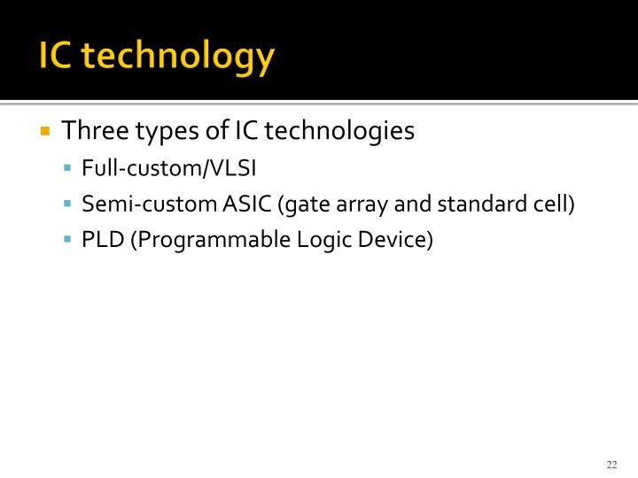 IC technology