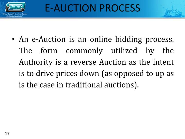 Reverse Auction Ppt – Billy Knight