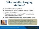 why mobile charging stations