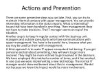 actions and prevention3