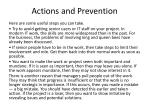 actions and prevention5