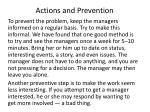 actions and prevention6