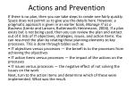 actions and prevention9