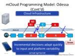mcloud programming model odessa cont d1