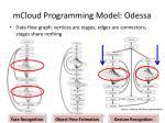 mcloud programming model odessa