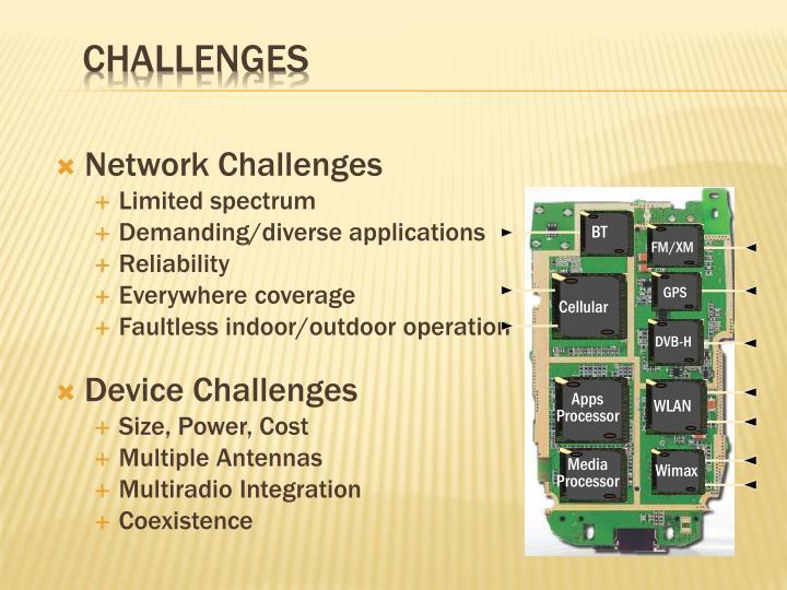 Network Challenges