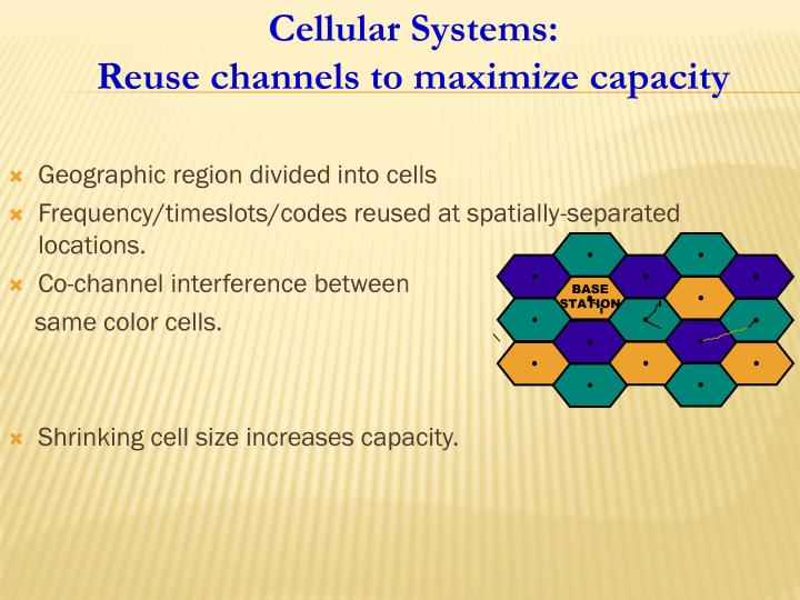 Cellular Systems:
