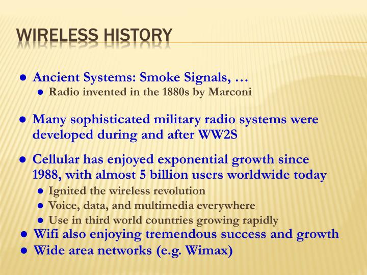 Radio invented in the 1880s by Marconi