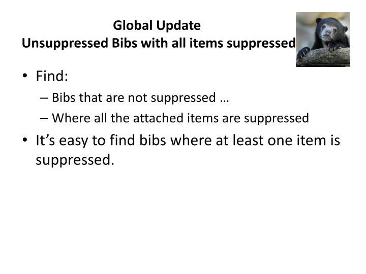 Global Update