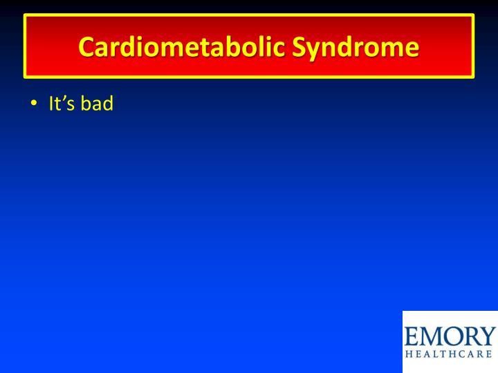 Cardiometabolic