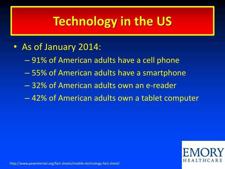 Technology in the US