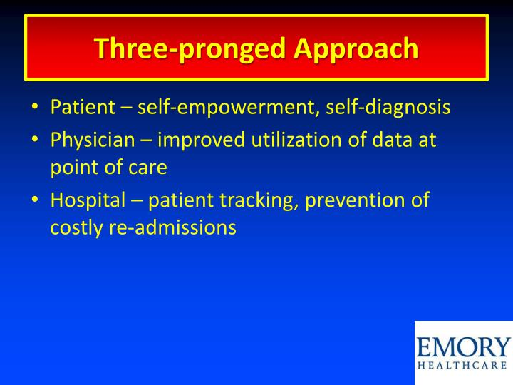 Three-pronged Approach