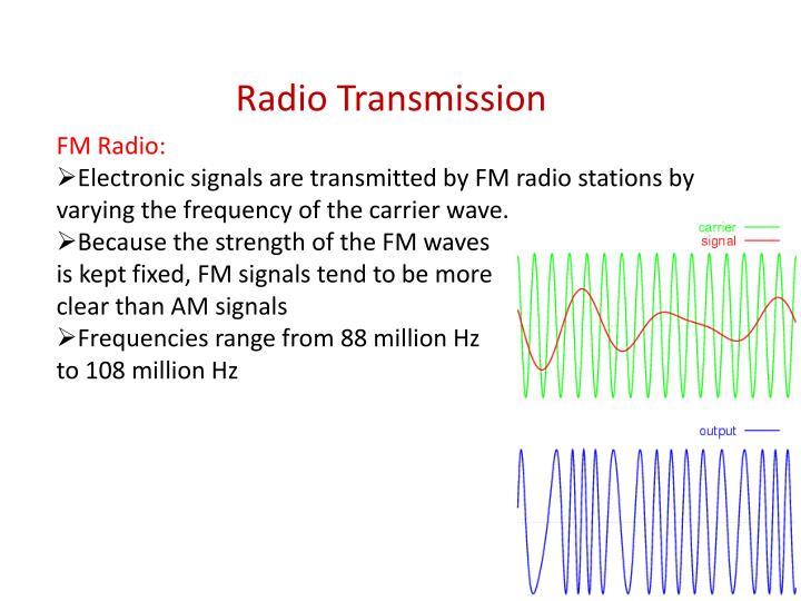 FM Radio: