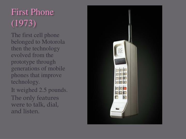 First Phone (1973)