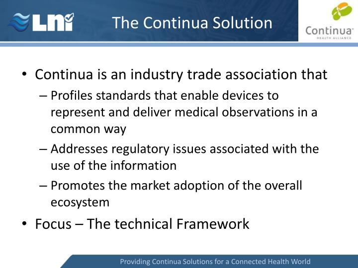 The Continua Solution