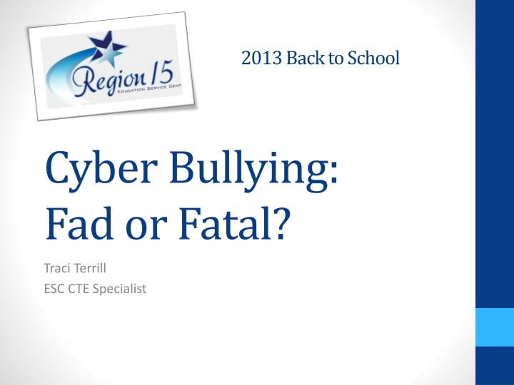 Cyberbullying essay