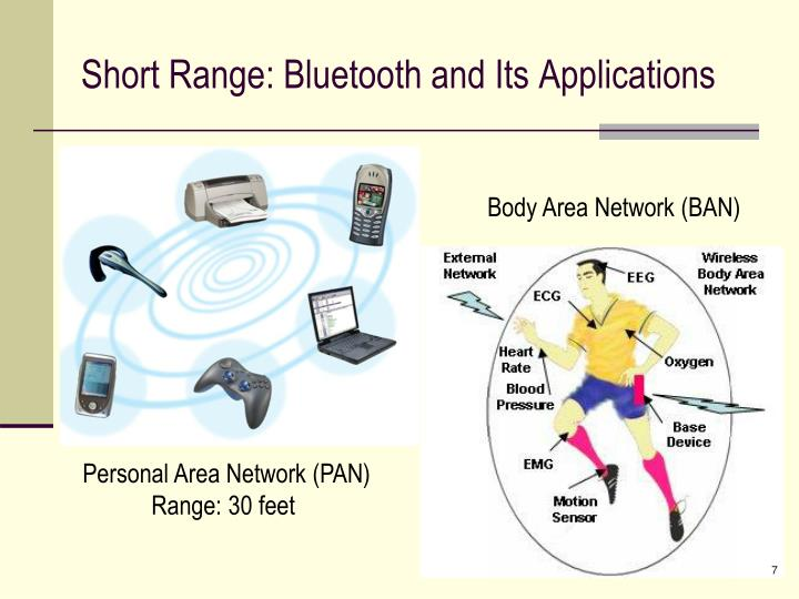 Short Range: Bluetooth and Its Applications