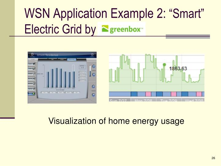 WSN Application Example 2: