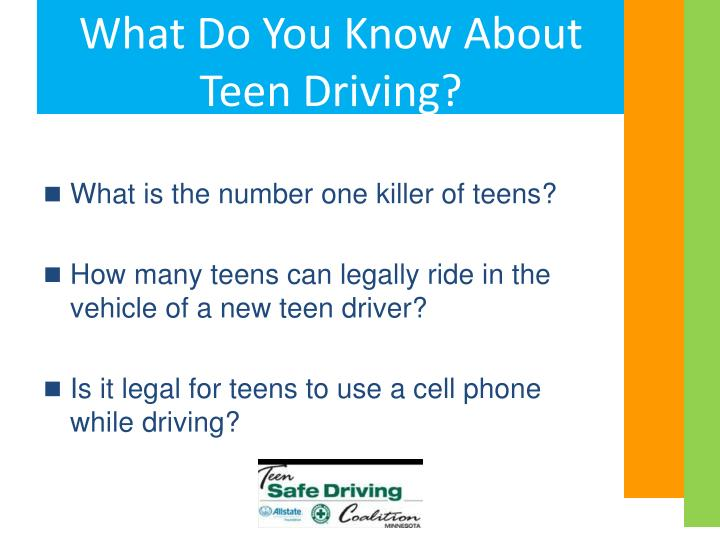 What is the number one killer of teens?