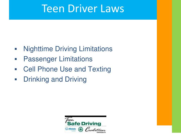 Nighttime Driving Limitations