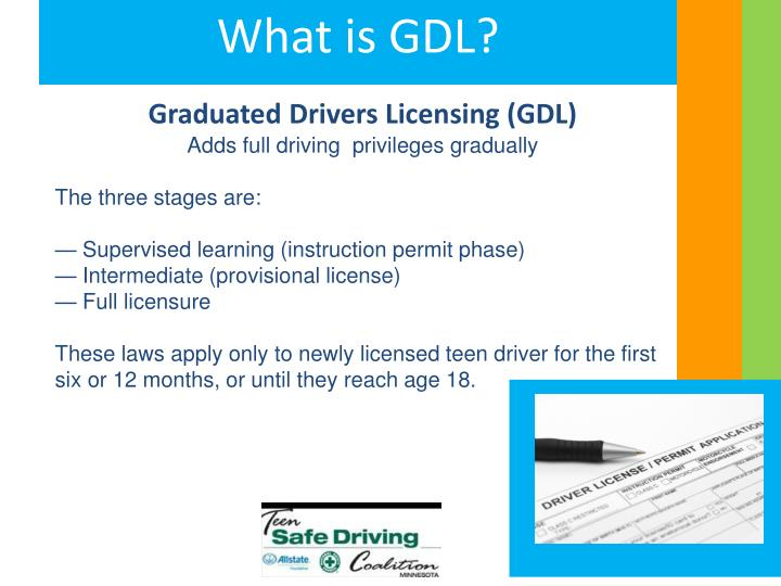 Graduated Drivers Licensing (GDL)