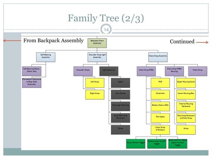 Family Tree (2/3)