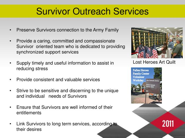 Survivor Outreach Services