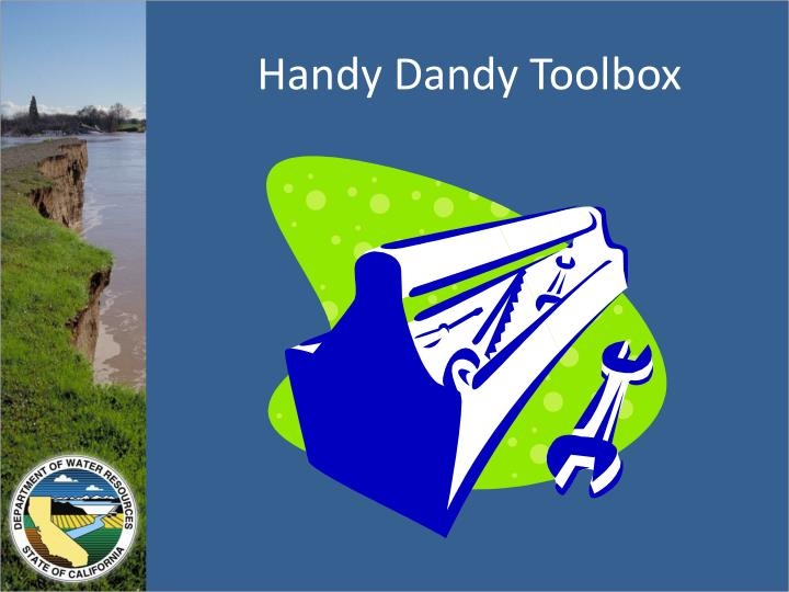 Handy Dandy Toolbox