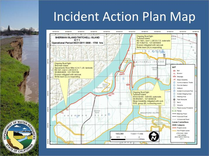 Incident Action Plan Map