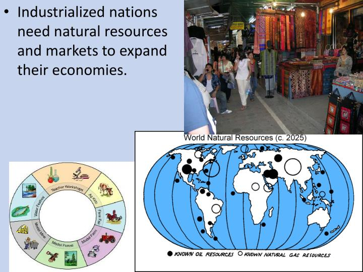 Industrialized nations need natural