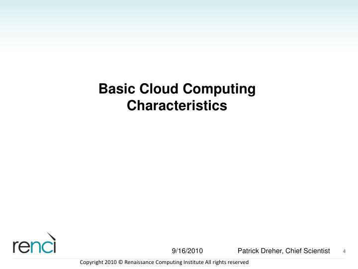 Basic Cloud Computing