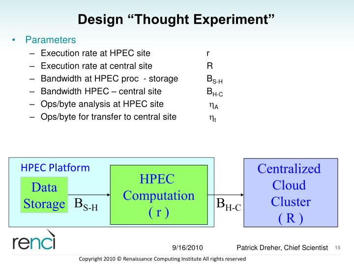 """Design """"Thought Experiment"""""""