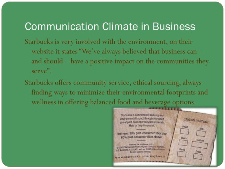 Communication Climate in