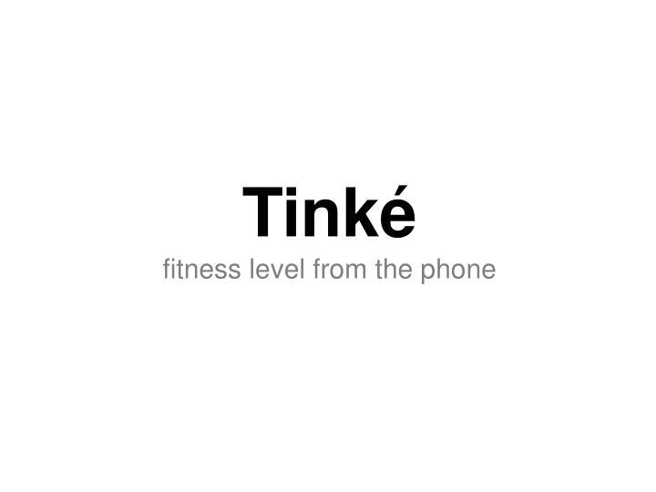 Tinké