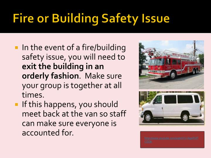 Fire or Building Safety Issue