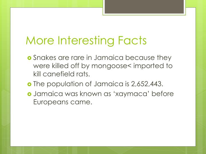 Jamaica Interesting Facts The Best Fact In - 12 interesting facts about jamaica
