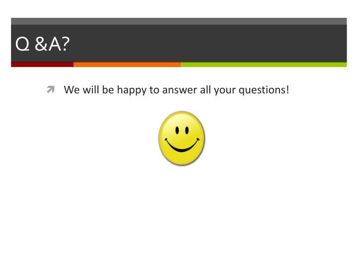 Q &A?
