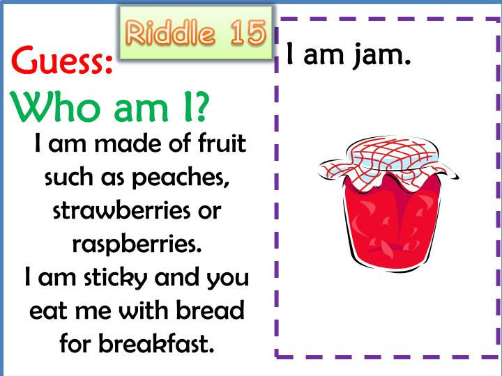 Riddle 15