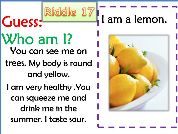 Riddle 17