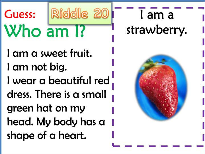 Riddle 20