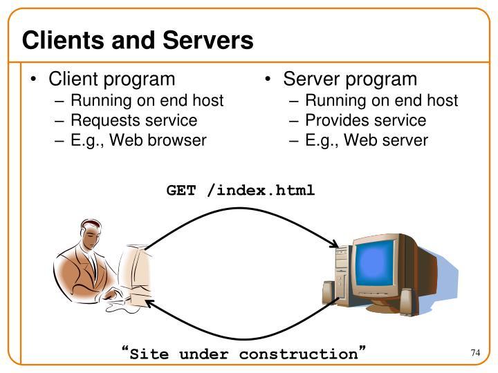 Client program