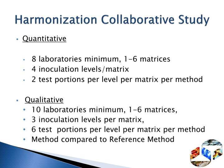 Harmonization Collaborative Study
