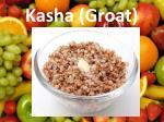 kasha groat