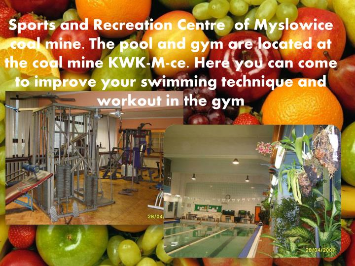 Sports and Recreation Centre  of Mys