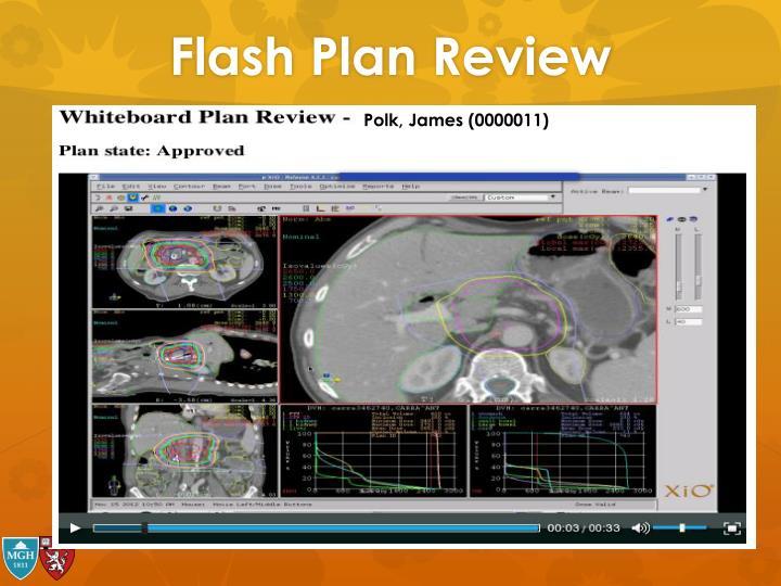Flash Plan Review