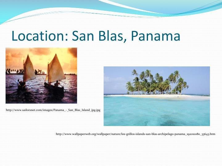 Location: San Blas, Panama